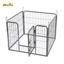 Heavy duty Metal pet Dog Playpen wire dog fence small animals kennel enclosure