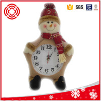 Decorative Christmas Doll with clock