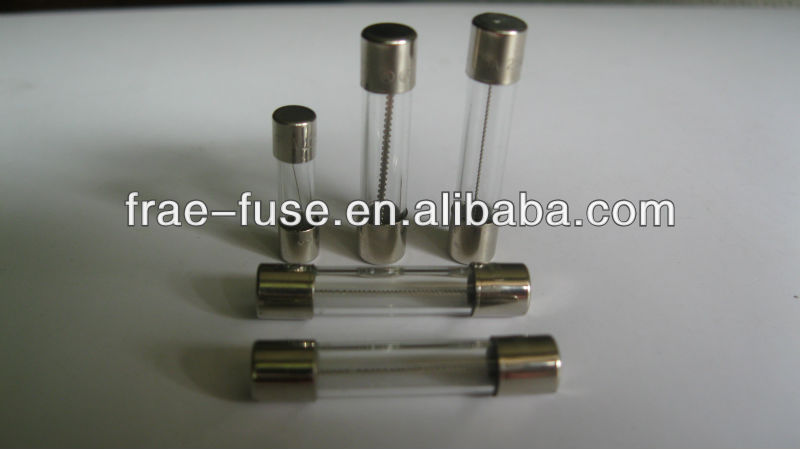 Low Breaking Capacity glass fuse 6x30