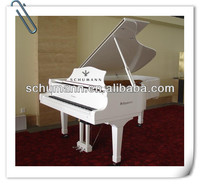 Musical Instrument White Grand piano GP-212