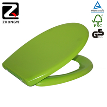 Soft Close Light Green Toilet Seat