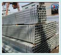 Hot Dipped Galvanized Square steel tube,Hollow Scaffolding Metal Pipe For Sale