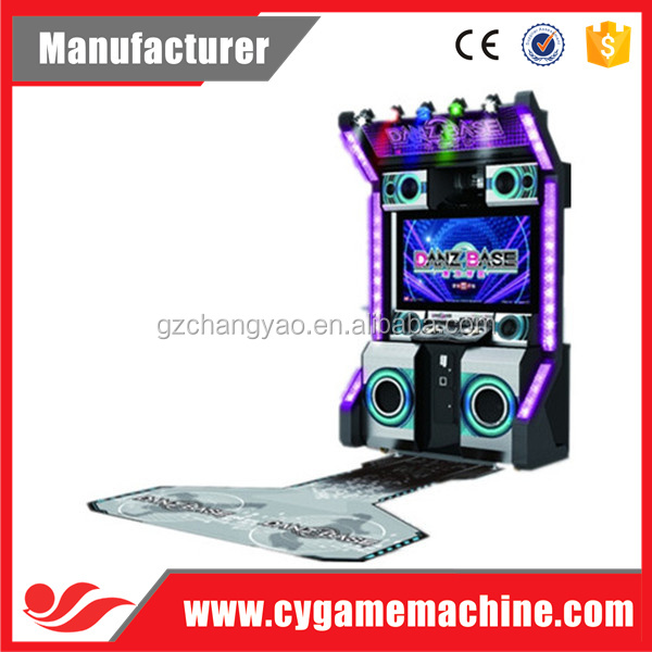 Hot Selling Dance Danz Base Arcade Video Dance Game Machine