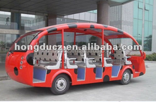 22 passengers Sightseeing tourist electric bus