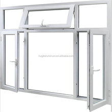 aluminum frame tempered glass window