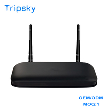 1 MOQ Professional Custom Home Edition RK3128 1G+8G Android 4.4 HD Internet Digital Cable Tv Set Top Box With Wifi