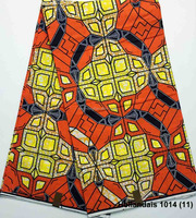 Hollandais 1014(11) Latest design 100% cotton waxed print fabrics african good price wax printed fabric for men clothes