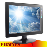 TFT LCD Monitor 4:3 Square Computer Display 15 inch LCD Monitor 12V