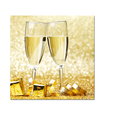 I Love Champagne Canvas Wall Art Sparkling Wine Canvas Printing Picture for Home and Office Decoration