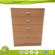 clean melamine particle board or MDF cover Chest of Drawers Furniture