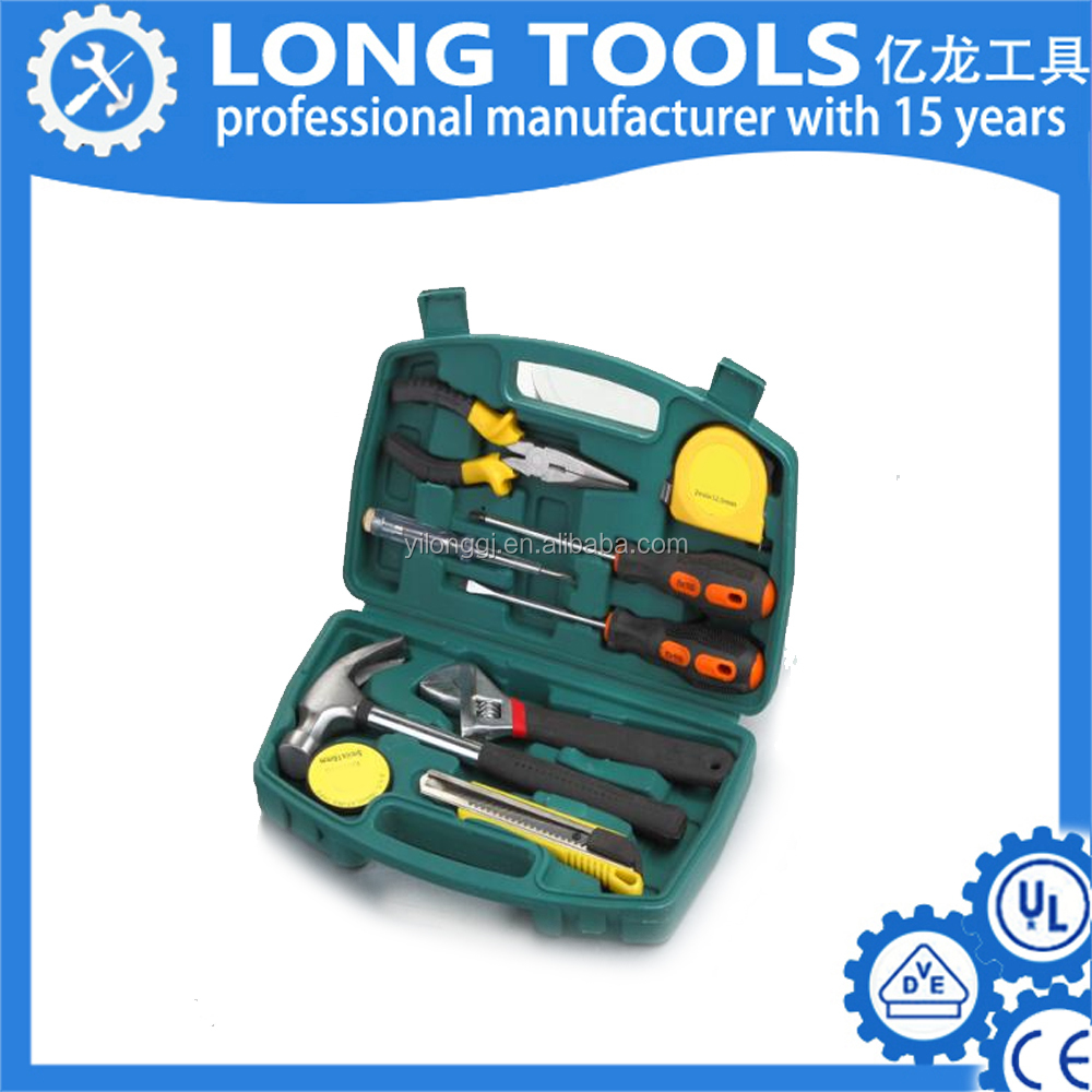 Mobile repairing auto household metal cartridge emergency mini tool set