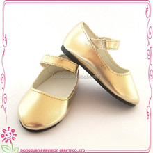 Factory directly durable PE or Box packing doll shoes for 18'' dolls