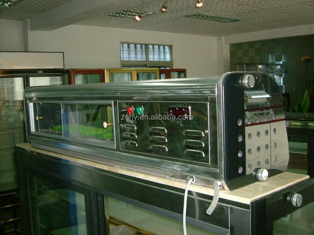 Sushi refrigerated Showcase For restaurant and supermarket