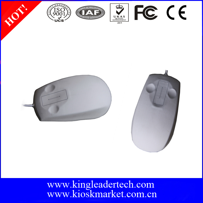 Stylish Design and Comfortable Shape Waterproof Optical Mouse with Scrolling Touchpad
