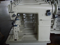 double needles 820 Post-bed lockstitch industrial sewing machine