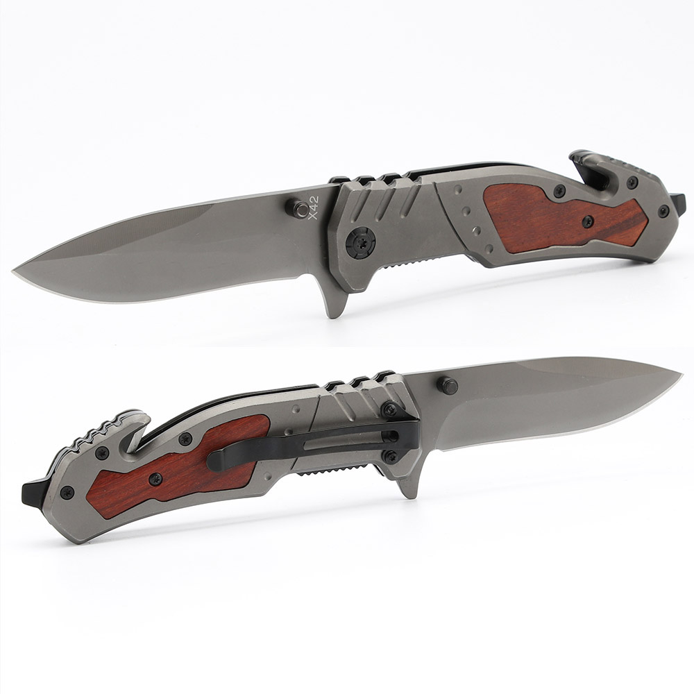 BR X42 Hot sale camping Survival <strong>knife</strong> utility Tactical folding outdoors combat hunting pocket <strong>knives</strong>