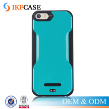 Anti-knock Slim Soft TPU+PC Kickstand Mobile Phone Back Cases For iPhone 5 5S SE