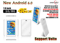 4G LTE Android 6.0 tablet pc 7inch with GPS Bluetooth Wifi