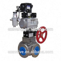 BV 340 Four Way Gas Ball Valve (T or L Type)