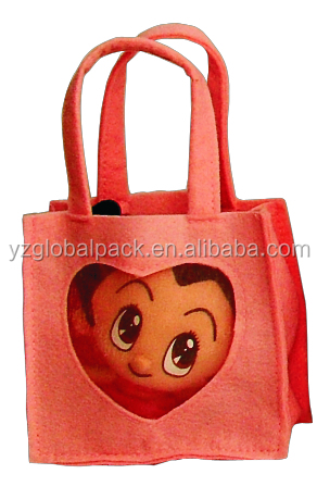 Global Decorative Felt Custom-made Gift Bags