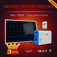 Green energy Good price home use dc ac power solar storage system 500 watt