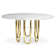 Latest Modern Design Wood Coffee Table Stainless Steel
