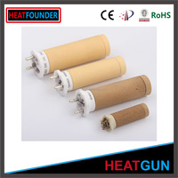 SIMILAR TO LEISTER HOT AIR GUN HEATING ELEMENT AND CUSTOMIZED CORDIERITE HEATER BOBBIN