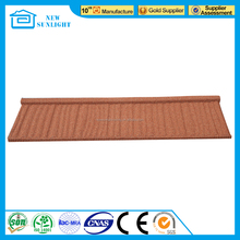 Professional galvanized steel sheet colorful stone coated steel roofing tile with high quality