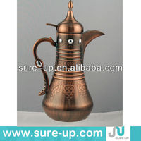 hight quality arabic coffee and water pot,copper coffee pot,metal coffe pot