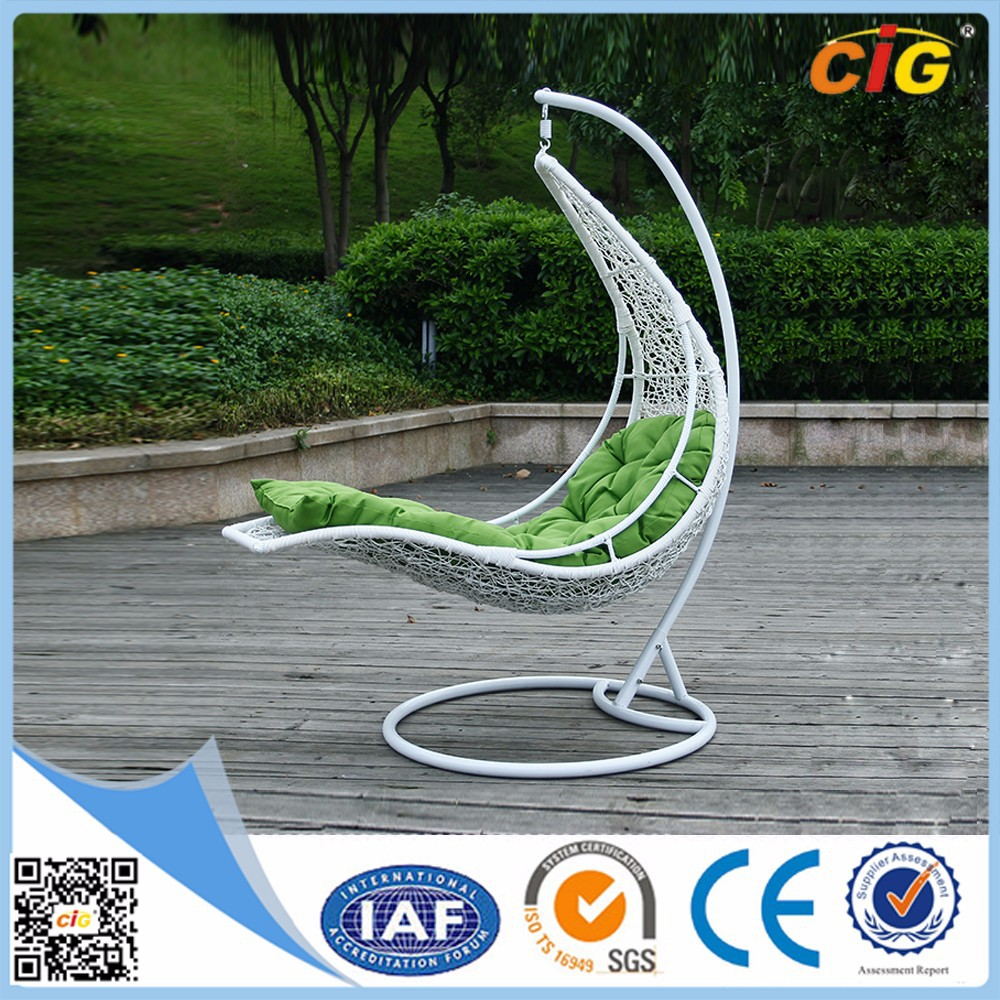 Guaranteed Quality Balcony Wicker Rattan Hanging Swing Chair