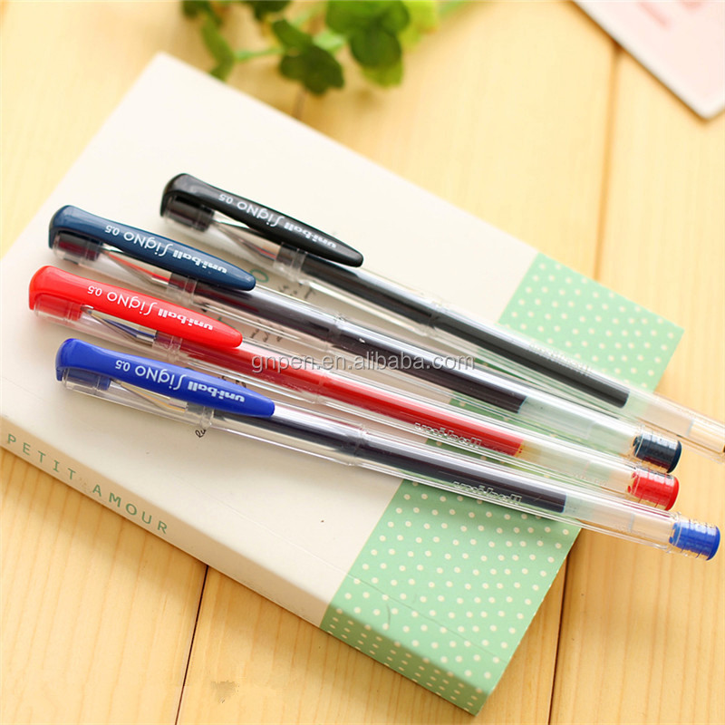 Best selling 0.5mm Office sign pen uni ball gel pen