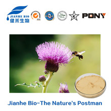 GMP100% Natural Milk Thistle seed extract /20%-80% Silymarin protect liver health /Fructus Silybum Marianum