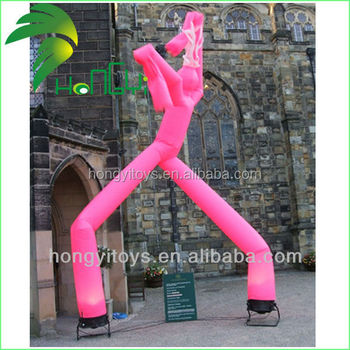 Cheap Promotional Inflatable Sky Dancer / Custom Inflatable Air Dancer With Factory Price