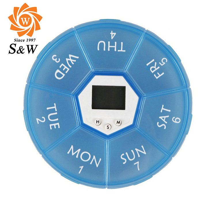 Factory Price Eco-friendly pill box timer