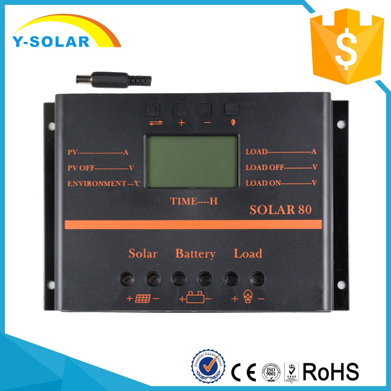 SUNYOBA Brand 80A Solar Charge Controller for Solar Power System