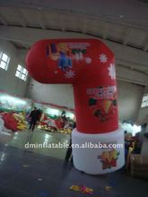 new advertising inflatable Christmas stocking