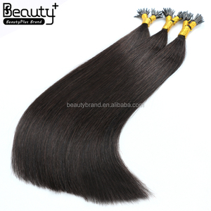 alibaba express 100 percent virgin brazilian hair double drawn natural pre i tip hair extensions kinky curly