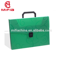 A4 Plastic Portable Document PP File Storage Box folder with lock
