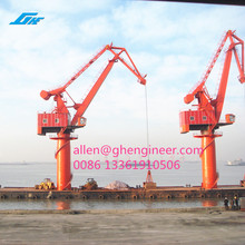 offshore crane FQ3033/5025 Four-bar linkage floating crane GHE