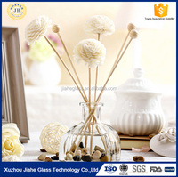 170ml tent glass reed diffuser bottle for rose perfume