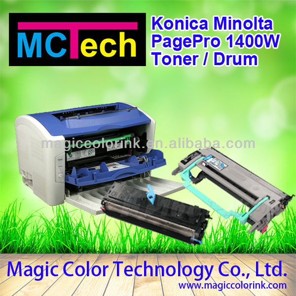 Konica minolta bizhub drum unit for MINOLTA PAGE PRO 1400W