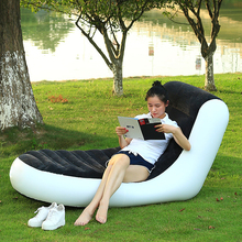 Fashion PVC Inflatable Sofa Chair For Home Outdoor And Beach