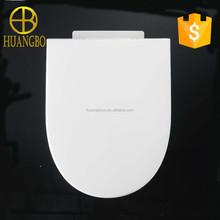 U shape slow down function toilet seat cover for bathroom toilet accessories