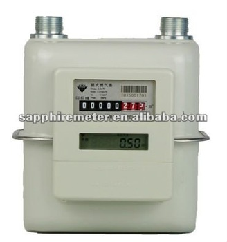 IWG2.5S Sapphire Diaphragm Wireless Remote Control Intelligent Household Gas Meter
