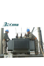Off-site repair-maintenance service for transformers