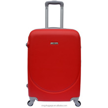 Promotional cheap hard case trolley luggage bag set of 3 ABS materials suitcase