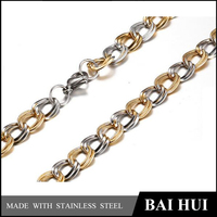 Baihui Jewelry Factory-8.6MM Stainless Steel Jewelry Chain/Cheap Wholesale Fashion Designs Decorative Chains For Jewelry