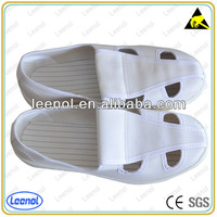 LN-7105 4hole Leather comfortable esd shoes