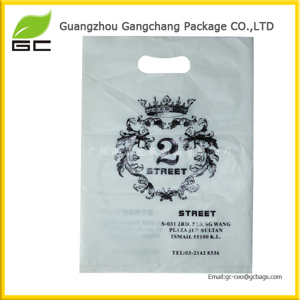 Free sample laminated plastic bag clothes shipping for dresses