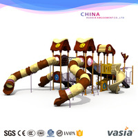 custom water park equipments, big water slides for sale